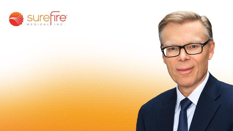 Mats Wahlström Joins Surefire Medical Board of Directors